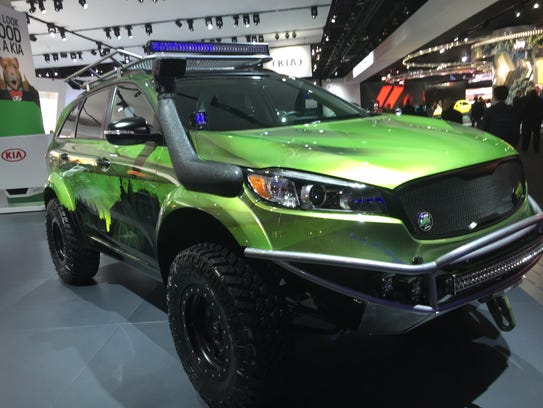 The funked-up Kia PacWest Sorento is among the Free