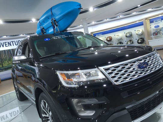 The Ford Explorer Platinum is among the Free Press'