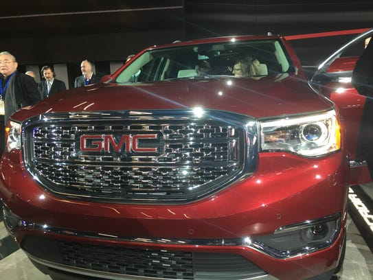 The redesigned GMC Acadia Denali is among the Free