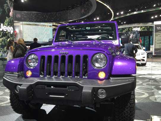 The Jeep Wrangler Backcountry 4x4 is a purple dream