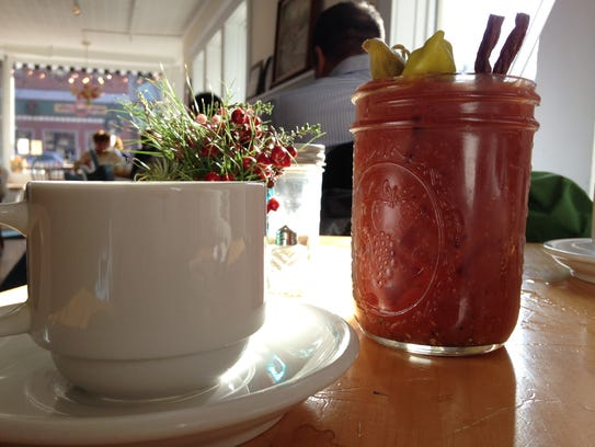 Bottomless coffee and (not bottomless) Bloody Mary's