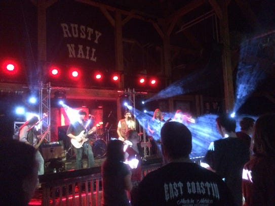 Gang of Thieves plays Friday at the Rusty Nail in Stowe.