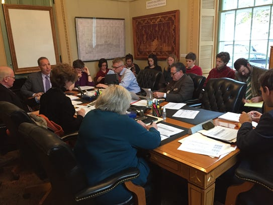 Health care officials from Gov. Peter Shumlin's administration
