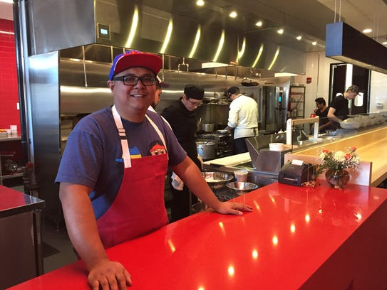 Chef Carlos Salazar heads the kitchen and co-owns Rook
