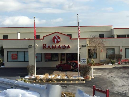 The Yonkers Ramada Inn where DMX collapsed.
