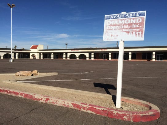 West Valley eyesores: This vacant shopping center at
