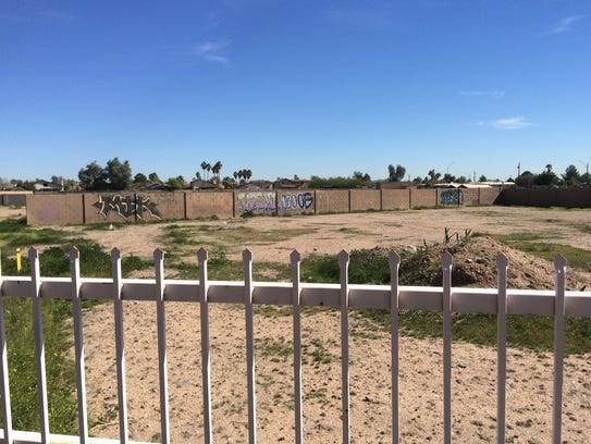 West Valley eyesores: An empty lot at 16231 N. 67th