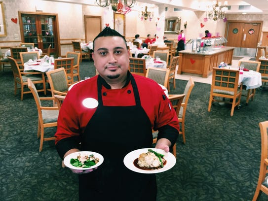 Chef Albert Hernandez is the executive chef at the