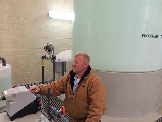 Brooks Boyett, the Murfreesboro Plant Shift Supervisor,