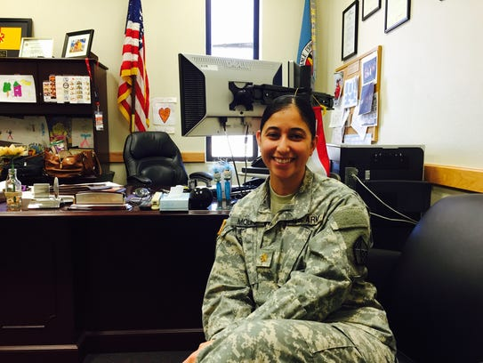 Maj. Jeannette M. Molina is the commanding officer