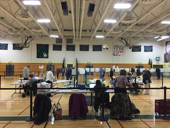 Colchester polling place