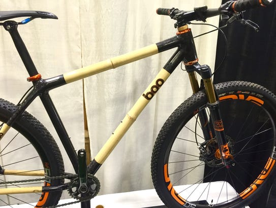 Boo Bicycles produces this bamboo and carbon mountain