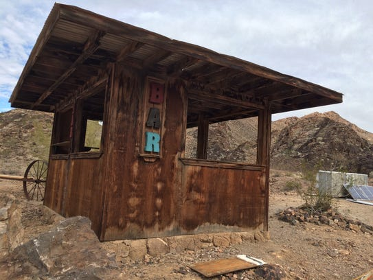 The original Desert Bar, opened in 1983, had five stools,