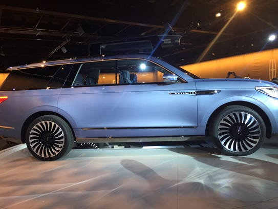 Lincoln unveiled a concept version of its Navigator