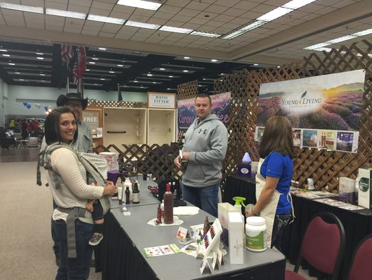 Local Young Living essential oil distributors discuss