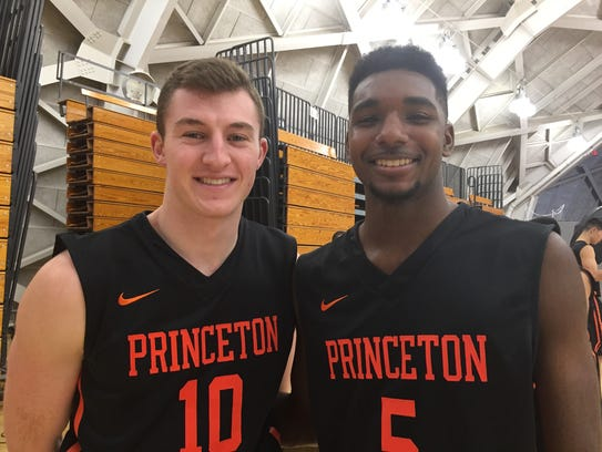 Princeton should be loaded next season with local guys
