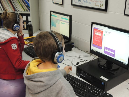 DCE Middle School students participate in the global