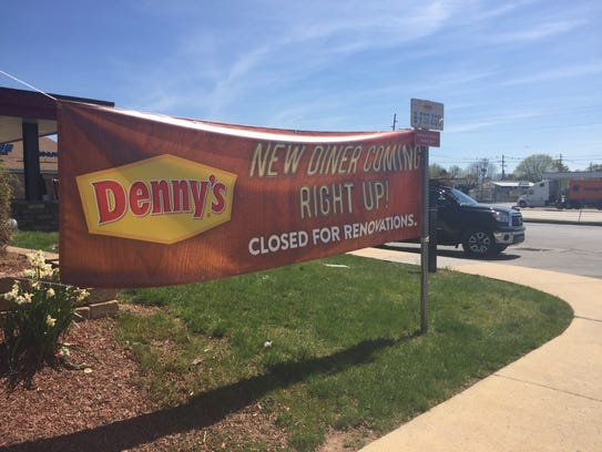Denny's in York has temporarily closed for renovations