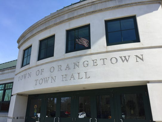 Orangetown Town Hall pictured here on April 18, 2016.