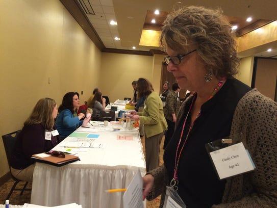 Cindy Zellner-Ehlers of Door County Human Services