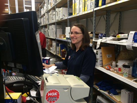 Former Howell Auto Parts store manager Crystal McMann