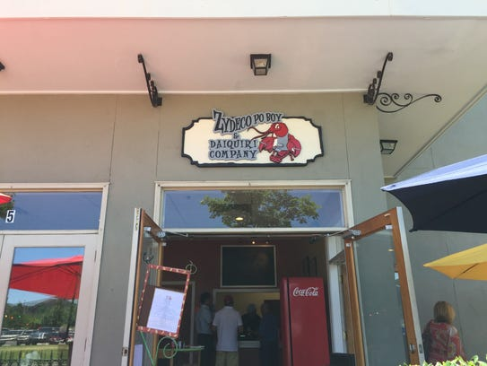 The new Zydeco Poboy and Daiquiri Shop is now open