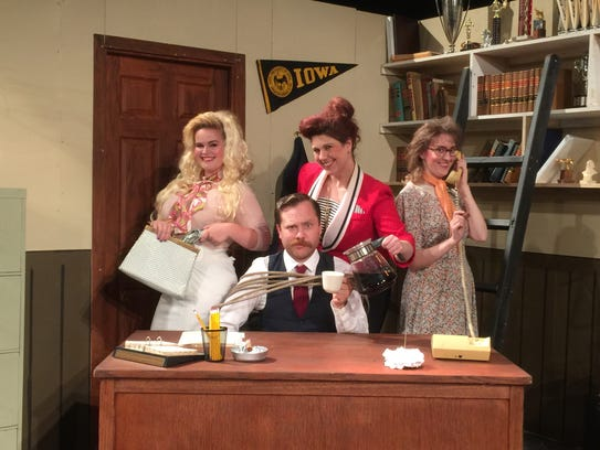 "Performances of the hit musical, ""9 TO 5"" continue"