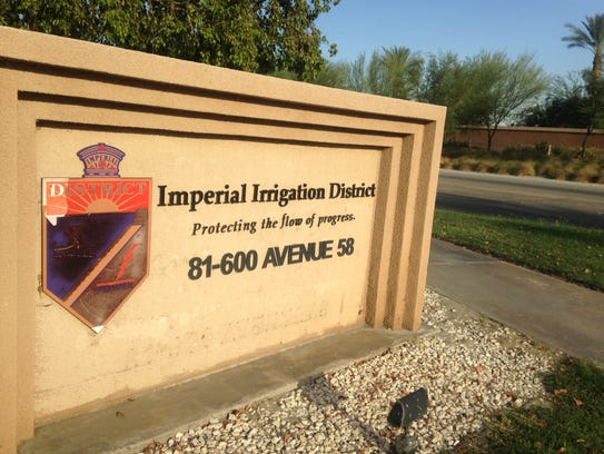 The Imperial Irrigation District's Coachella Valley