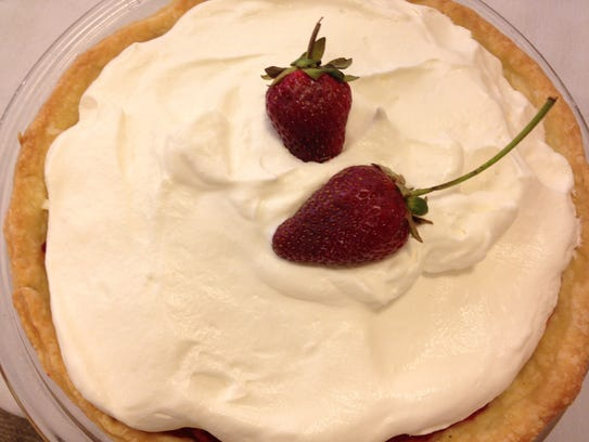 The crowning glory of Ruth Page's Strawberry Pie is