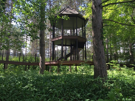A story will also be located in the tree house, along