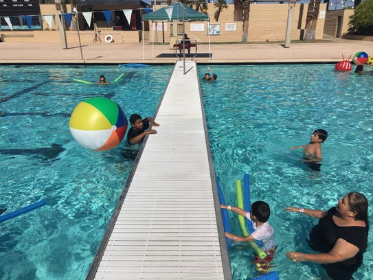 Families enjoy the Fourth of July at the Palm Springs