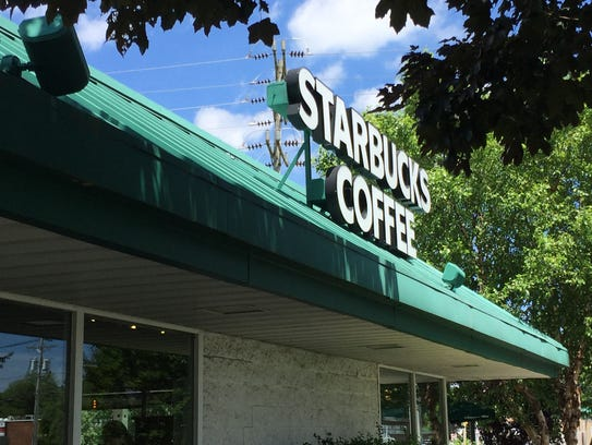 Starbucks, shown here in Ocean Township, said it would