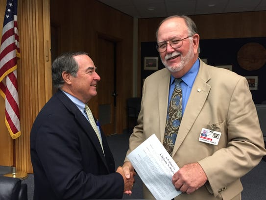In this July 12, 2016 photo, Wicomico County Board