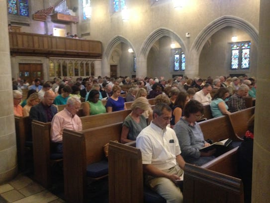 Congregations gather at First United Methodist Church