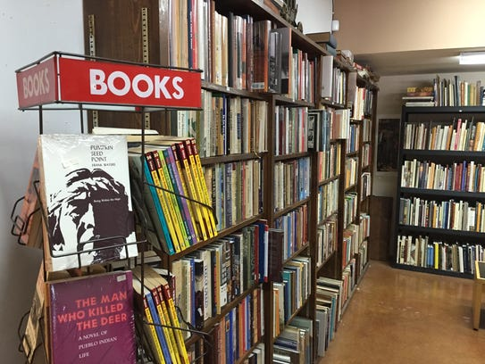Guidon Books in Scottsdale specializes in Western literature