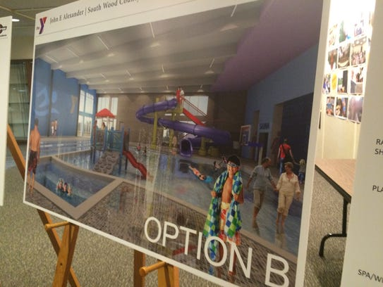The South Wood County YMCA presented Option B at an
