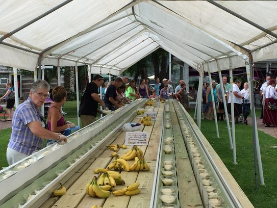 The banana split at the Fond du Lac County Historical