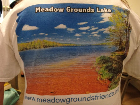 Friends of Meadow Grounds Lake made a t-shirt as a