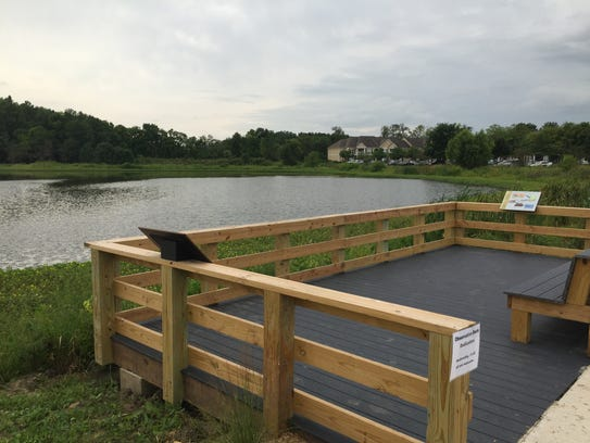 The New Celery Bog Nature Center Overlook Deck provides
