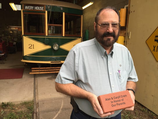 Alan Cram of the Fort Collins Municipal Railway Society