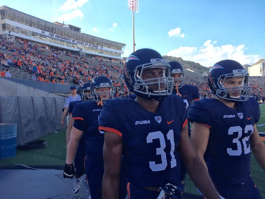 UTEP football players ready for the season opener game