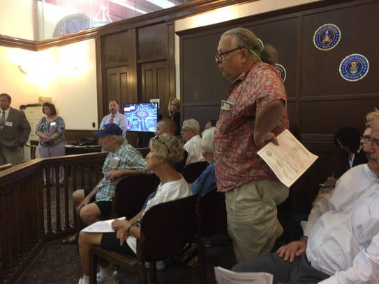 Fran Woodford of Elmira comments on the North Main