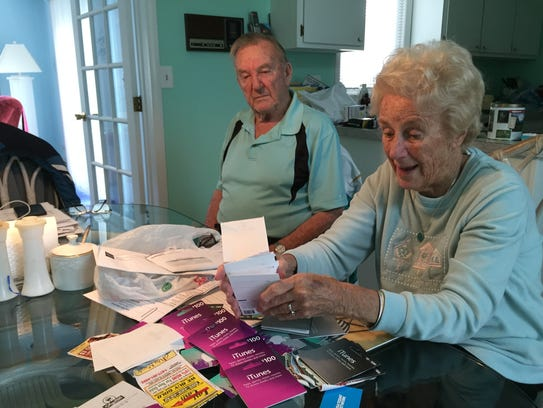Bob and Dorothy Frank of Lacey were tricked into buying