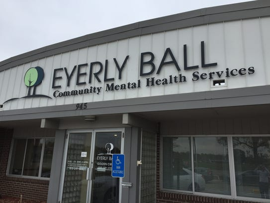 The Eyerly Ball center on 19th Street in Des Moines.