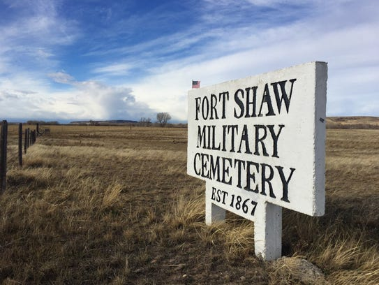 Fort Shaw Military Cemetery, est. 1867 is also slated