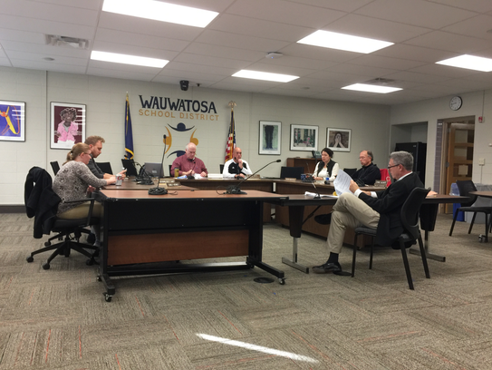 The Wauwatosa school board met Nov. 12 to discuss the