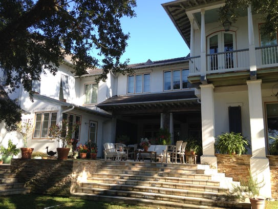 The Daigle house in River Ranch.