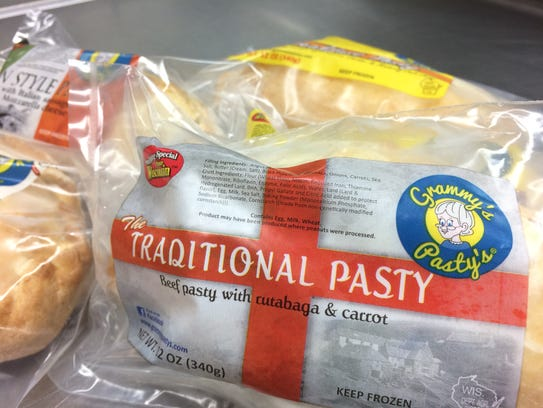 It can't be a traditional pasty without rutabaga.