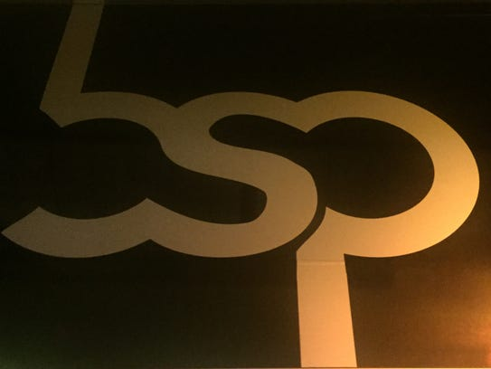 A sign for BSP, a music venue in Kingston.