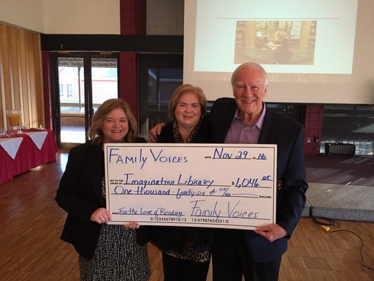 Ozarks Family Voices donated its remaining $1,046.05